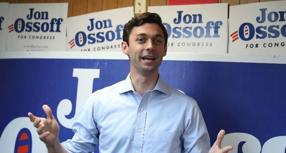 Democrat Jon Ossoff could strike first blow against Trump in high-stakes Georgia race