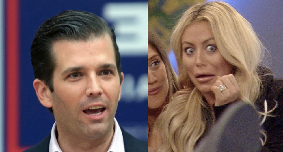 Larry Flynt trolls Don Jr. by hiring mistress that blew up Trump's marriage to New Year's Eve soiree