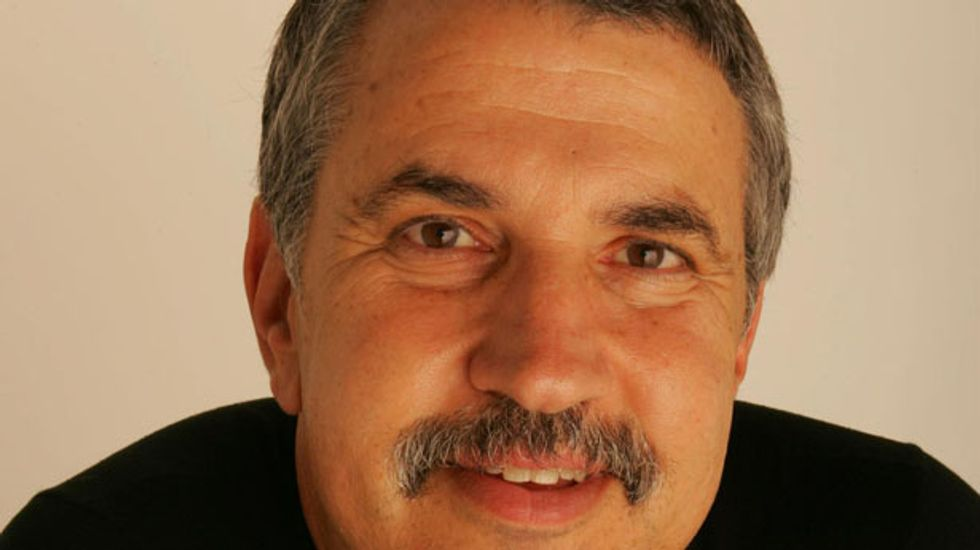 Tom Friedman will never ever get tired of telling Iraqis to 'suck on this'