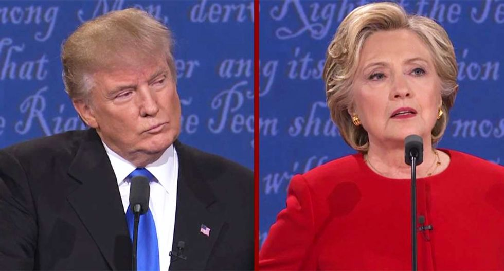 Clinton leads Trump by 5 points: Reuters/Ipsos poll