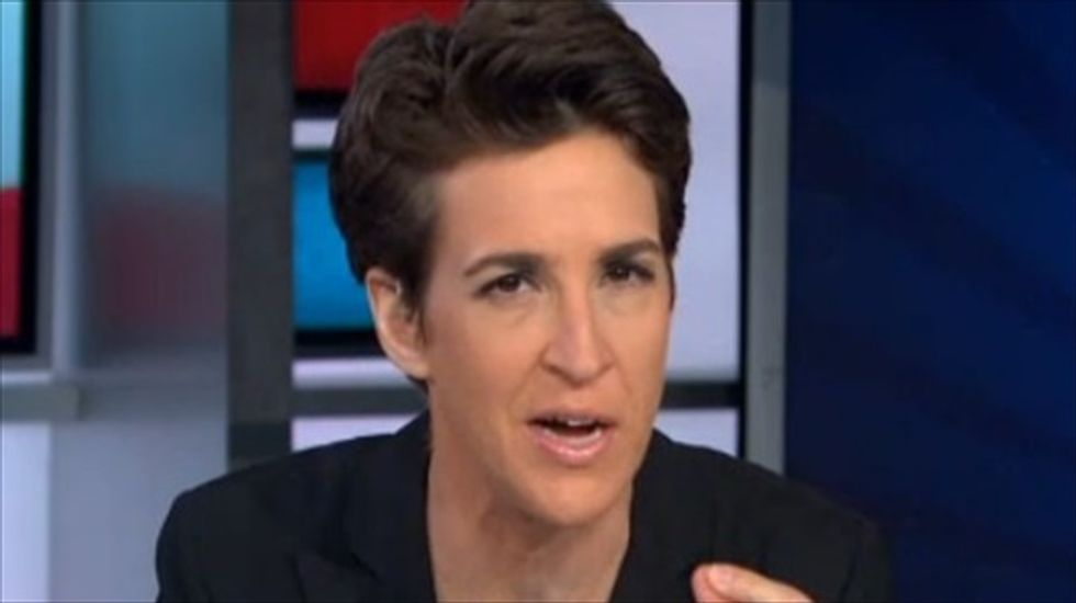 Rachel Maddow calls out media still booking 'yahoos' so wrong about Iraq the last time