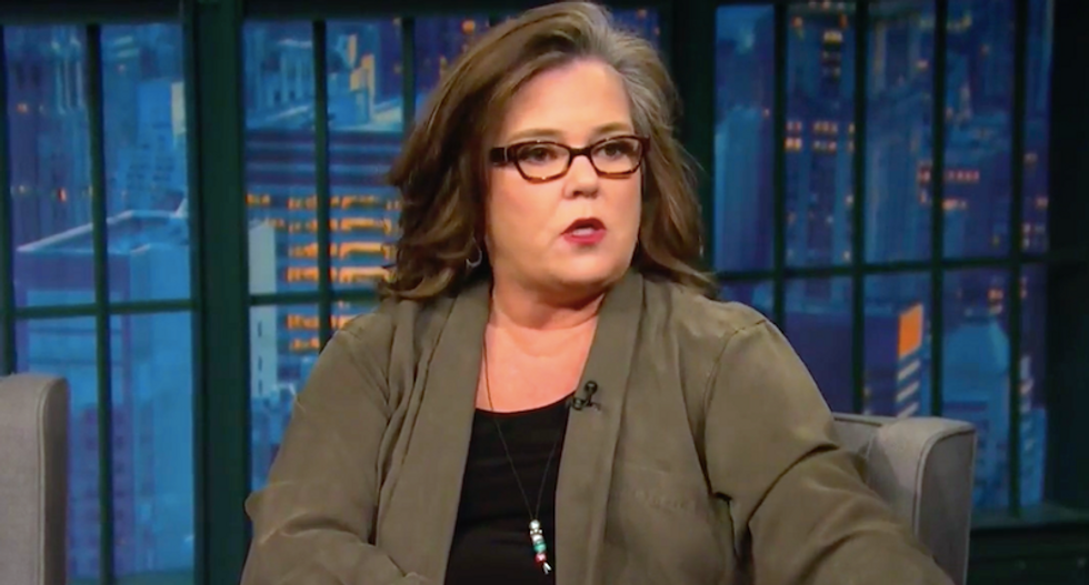 Rosie O'Donnell tells Seth Meyers why Donald Trump has been obsessed with her for more than a decade