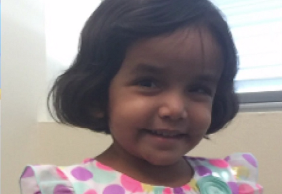 Texas police find body believed to be 3-year-old whose father locked her out at night as punishment