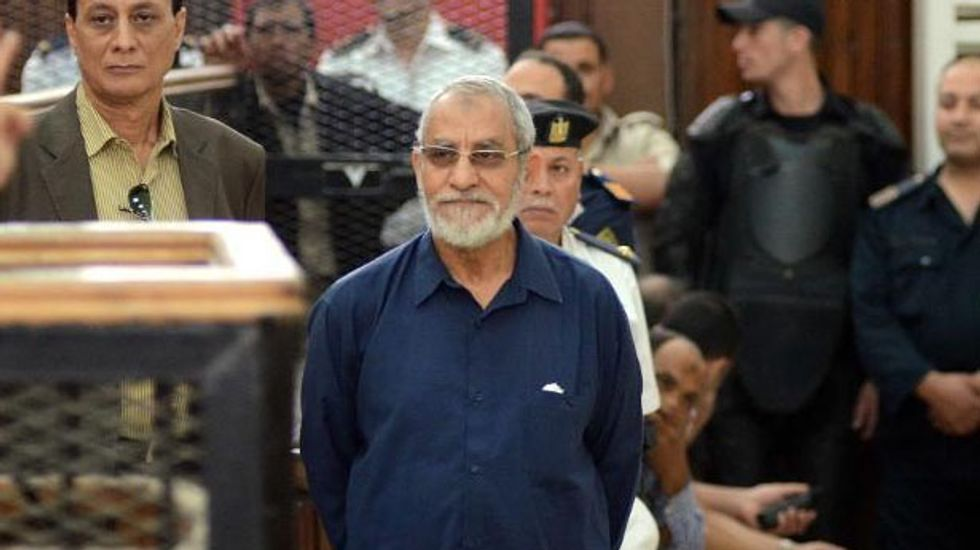 Egyptian Muslim Brotherhood chief given new death sentence