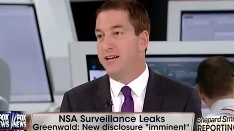 Fox's Shep Smith accuses Glenn Greenwald of calling U.S. military troops 'terrorists'