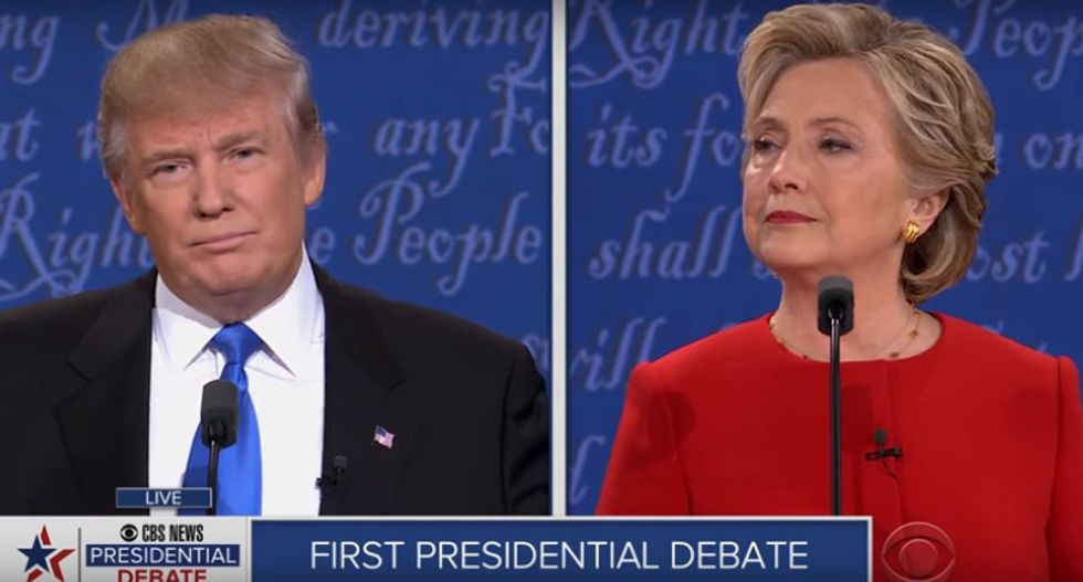 Trump edges ahead of Clinton in race for White House: poll