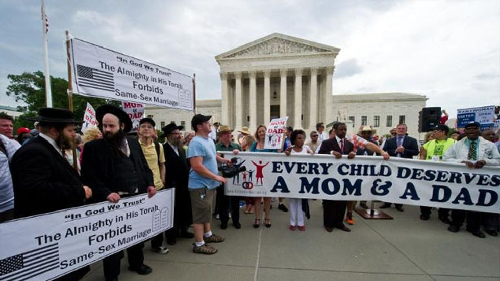 Opponents of same-sex marriage hold 'March for Marriage' in Washington, D.C.