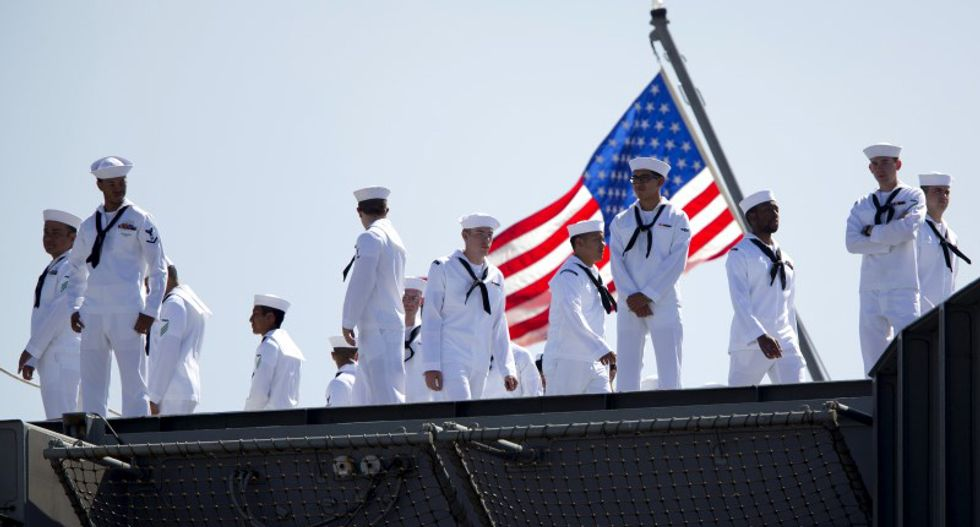 US Navy restores traditional job titles after objections over 'political correct BS'