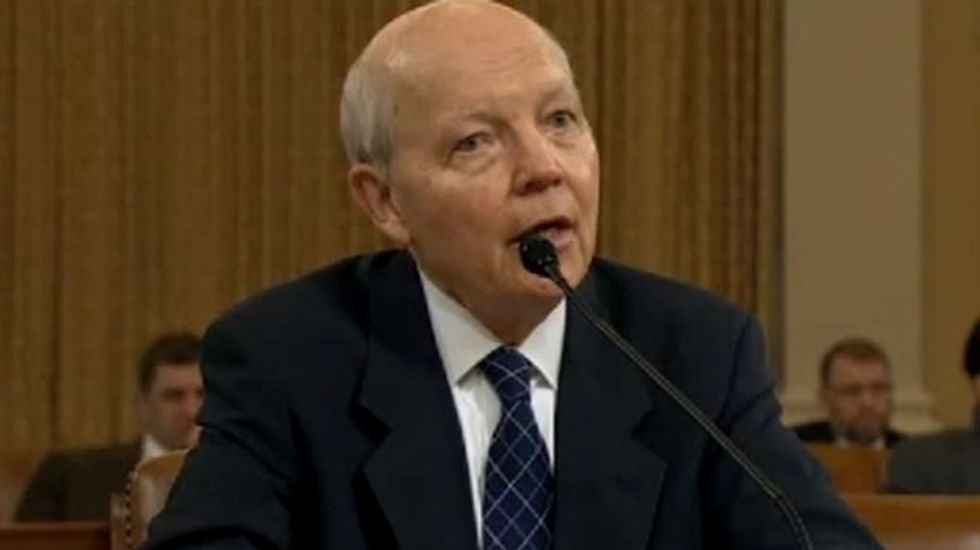 IRS chief refuses to apologize to Republicans in tense exchange over Tea Party probe