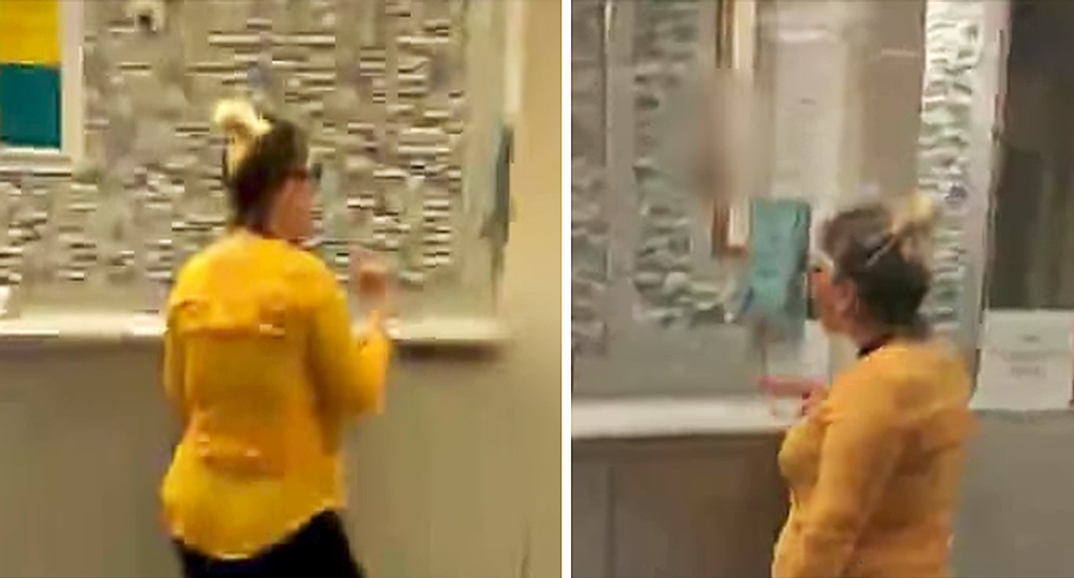 WATCH: Ranting racist woman caught on video asking to see 'white doctor who doesn't have brown teeth'