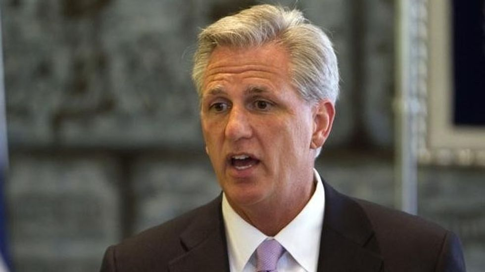 Republicans pick Kevin McCarthy as House majority leader