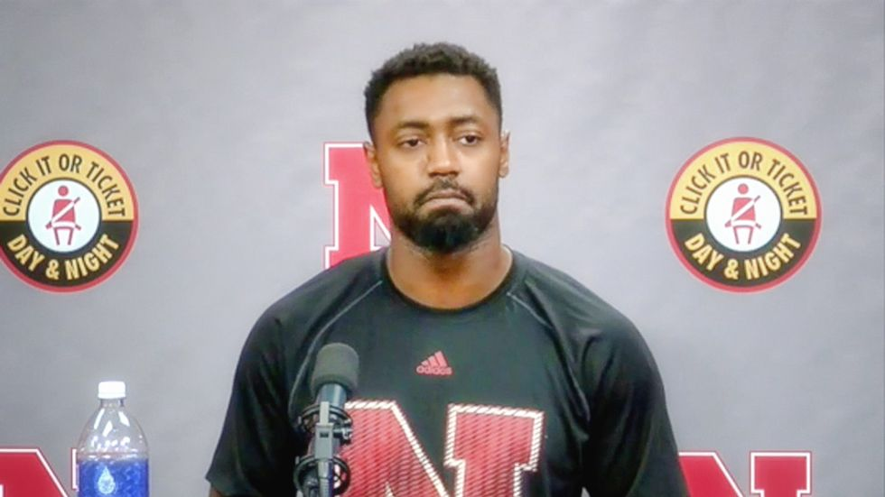 Fans wanted me 'hung before the anthem': Emotional Nebraska football player reveals racist threats