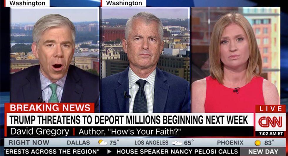 CNN panel destroys Trump's mass arrest threat of millions as a wildly unrealistic Orlando rally stunt