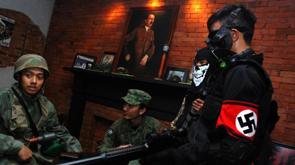 Nazi-themed Indonesian cafe reopens