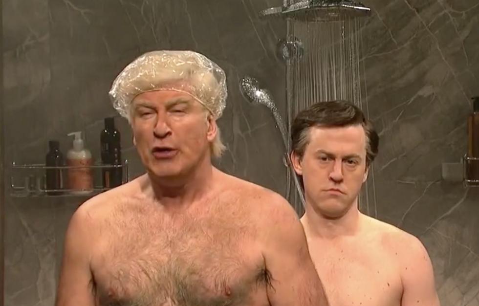 'God you're so screwed': Alec Baldwin returns to SNL as Trump visiting Manafort on house arrest