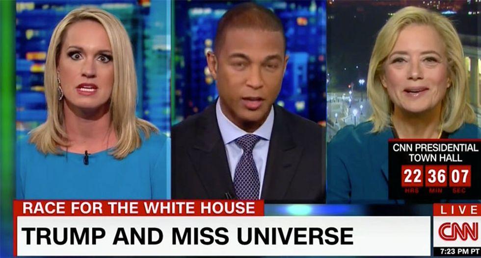 'C'mon, this is so beneath you': CNN guest shames Scottie Nell Hughes for trashing Alicia Machado