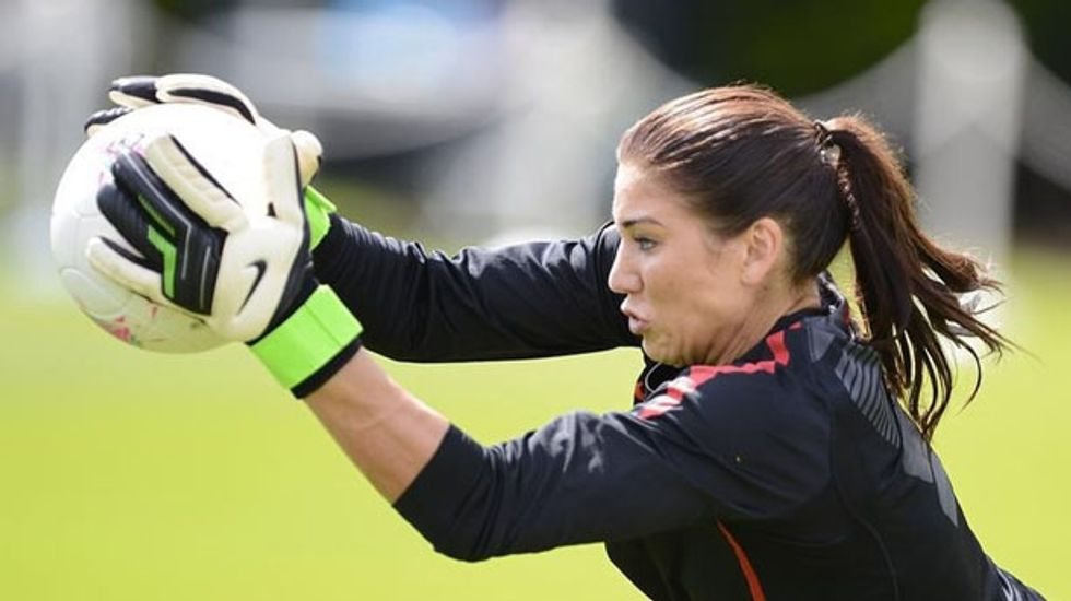 U.S. women's soccer star Hope Solo arrested for assault