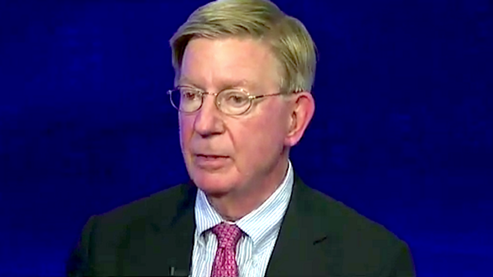George Will defends rape column, saying critics don't take rape seriously and maybe can't read