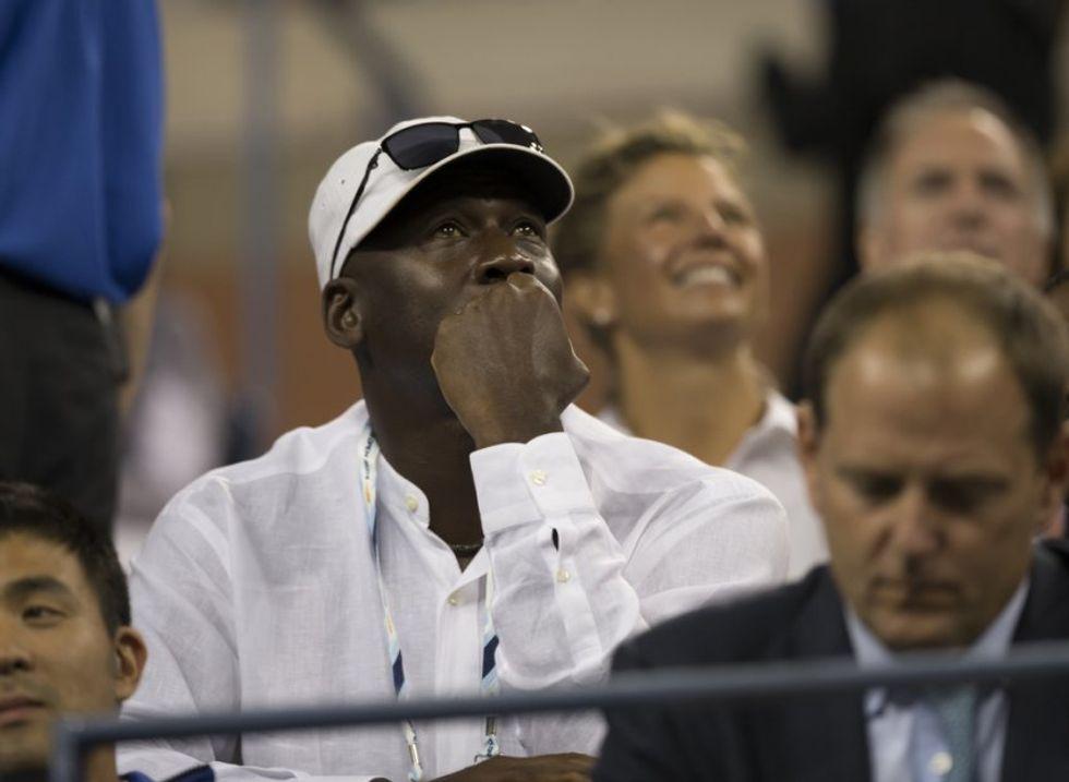NBA legend and Charlotte Hornets owner Michael Jordan pleads for calm after violent protests