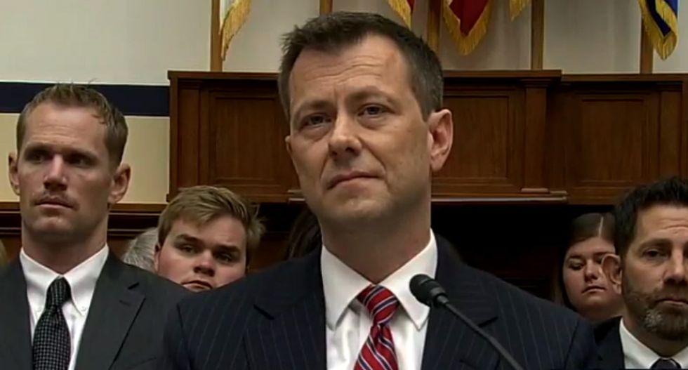 FBI fires agent Peter Strzok over his 2016 anti-Trump text messages