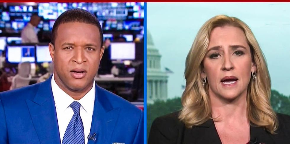 WATCH: Trump surrogate left stammering after her attack on Hillary for Bill's affairs backfires