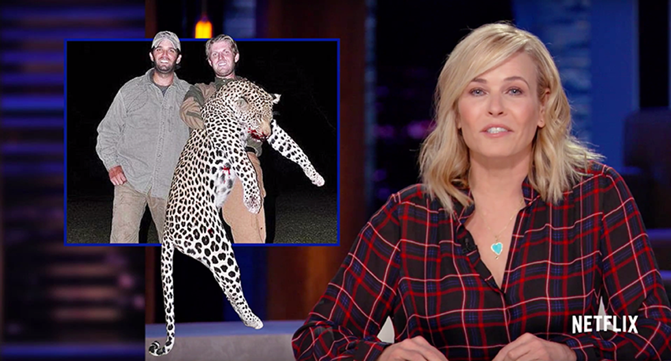 Chelsea Handler slams Trump sons for killing cheetahs: 'Assh*les in their natural habitat'