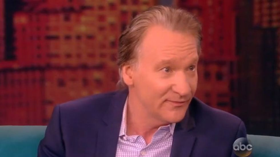 Bill Maher mocks Clinton smears by telling The View about Karl Rove's 'murdered gay lover'