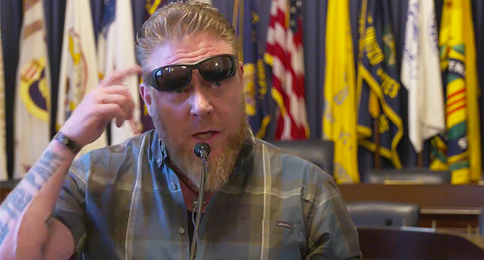 WATCH: Veterans say they 'wouldn't be here' without marijuana -- and demand changes to VA policy against it