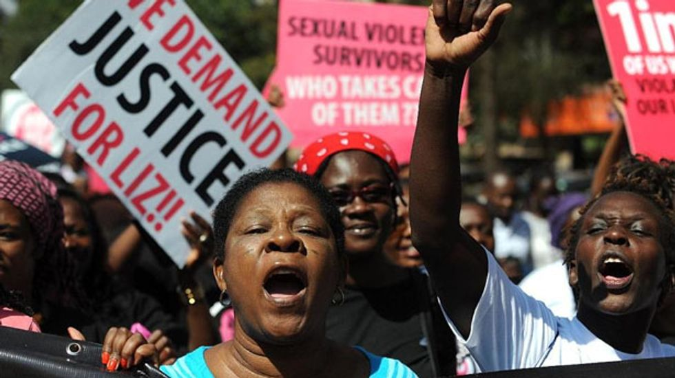 'We demand justice': Kenyans protest after men who brutally raped girl sentenced to cut grass