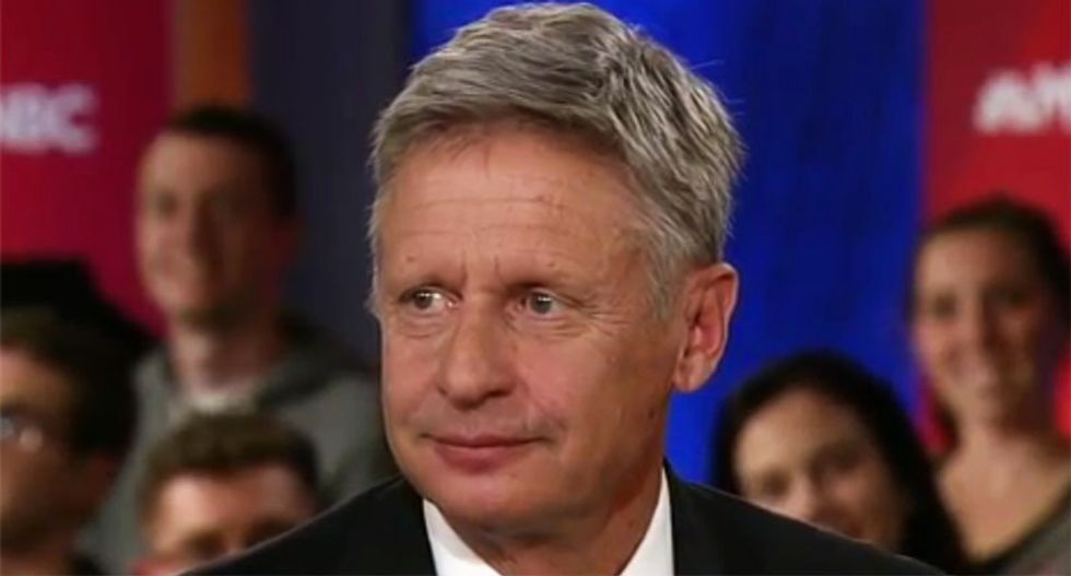Palin Redux? WATCH: Libertarian candidate Gary Johnson unable to name one world leader he admires