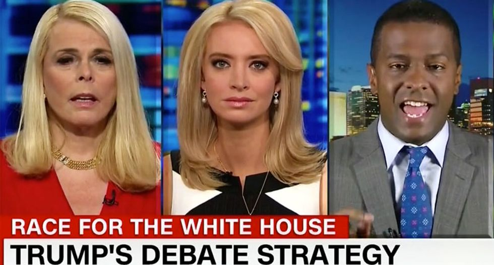 Trump advocate tells CNN panel Hillary is shaming girls over their weight — and all hell breaks loose