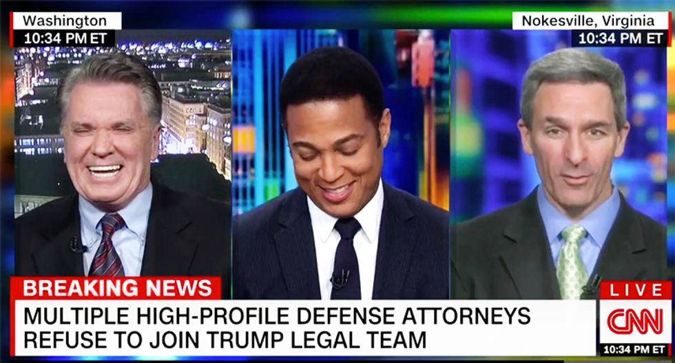 Former GOP Attorney General Cuccinelli dissolves in panic on CNN when asked if he would be Trump's lawyer