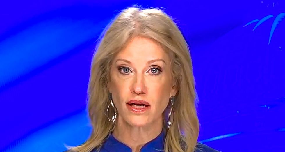 Kellyanne Conway scolds Fox reporter for calling Trump 'vicious' after president goes after Pelosi again