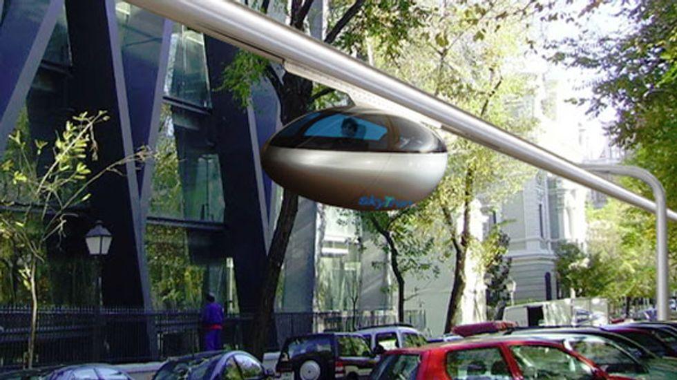 California-based skyTran to build futuristic levitating public transit system in Israel
