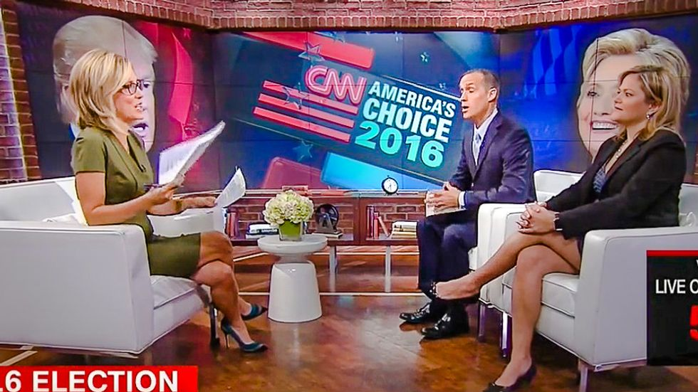 'That's talking point number 18': CNN host busts Corey Lewandowski reciting leaked Trump memo