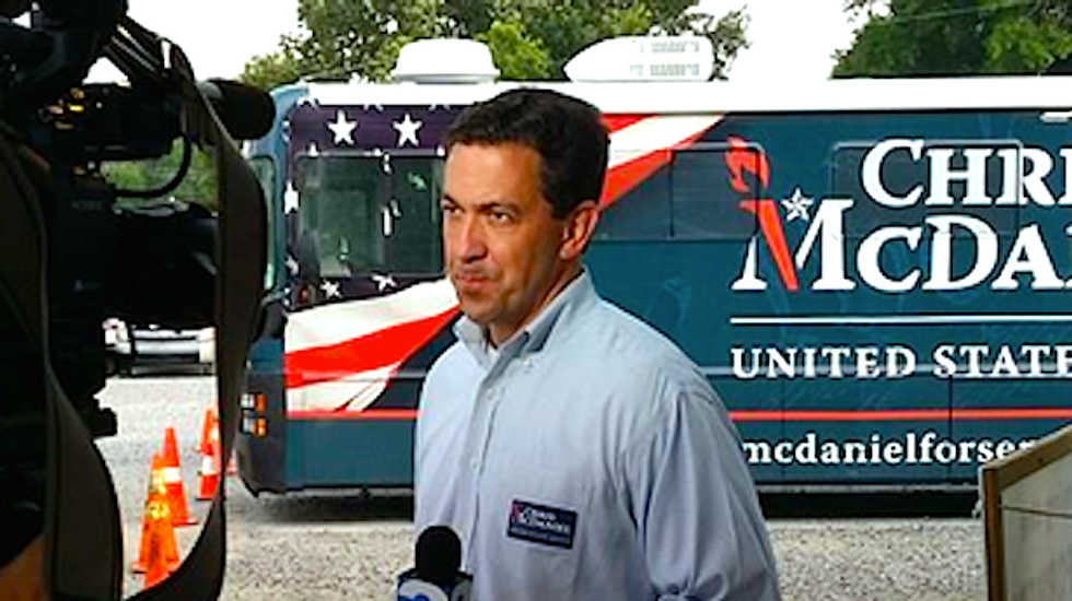 Tea Party urges Chris McDaniel to run as write-in after black Democrats 'steal' primary