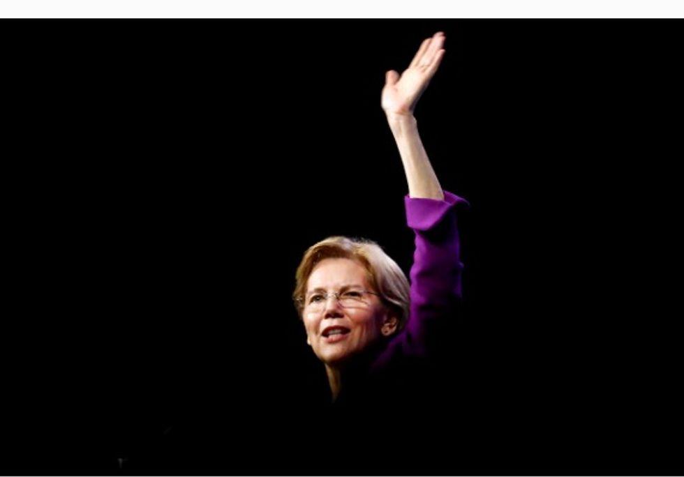 Senator Warren seeks to quiet critics with 2020 campaign launch