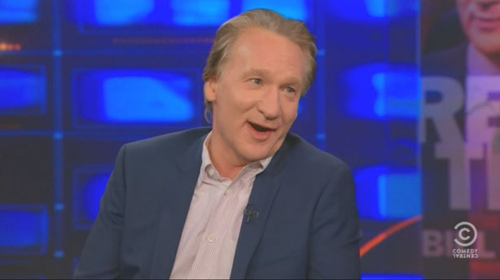 Maher to Stewart: 'Drugs are good, religion is bad' and Obama's spirituality is 'bullsh*t'