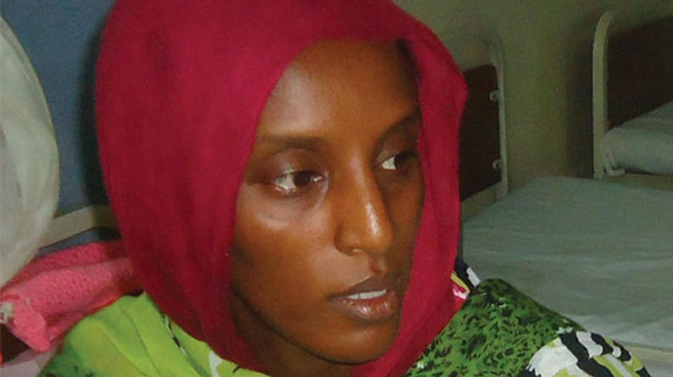 Sudanese Christian Meriam Yahia Ibrahim Ishag still being questioned by police