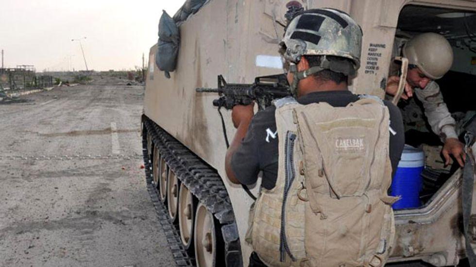 U.S. military advisers begin 'limited' mission in Iraq