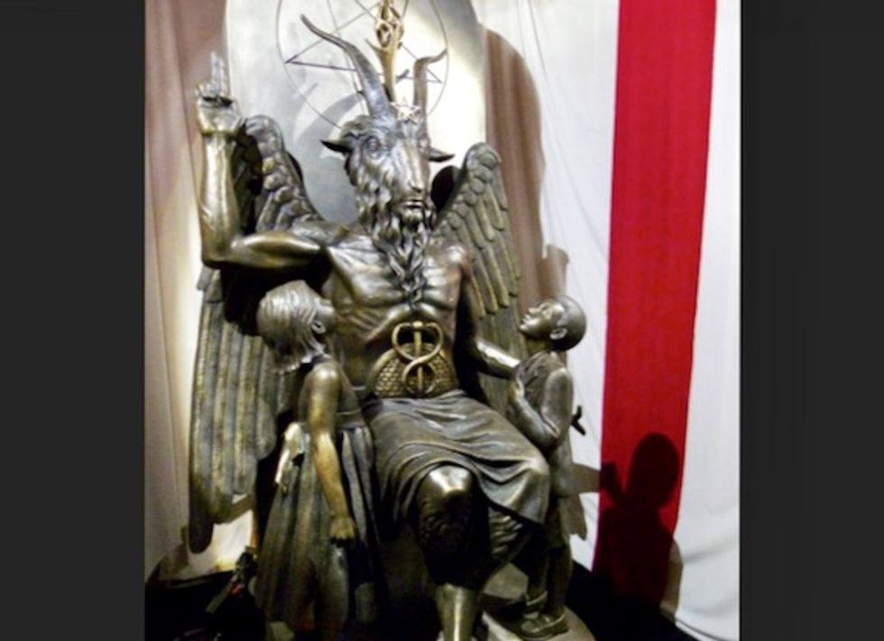 Satanic Temple settles lawsuit with Netflix over 'Sabrina' goat-headed deity