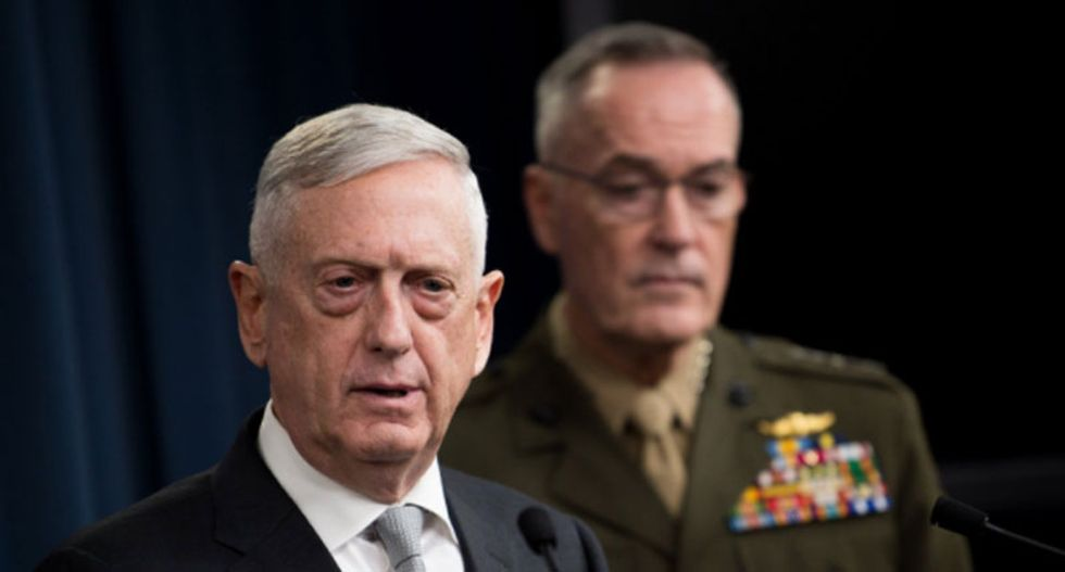 Turkey uneasy about US plan proposed by Mattis to set up observation posts on Syria border: minister