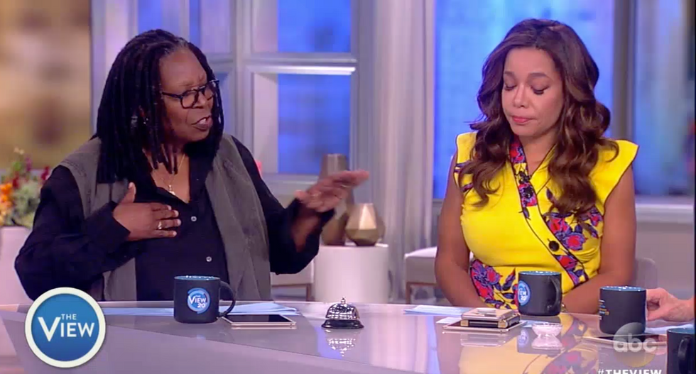 'He's a man-baby!': The View erupts over 'blabbermouth' Trump sharing classified intel with Russia