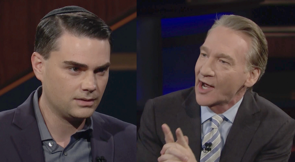 Conservative Ben Shapiro defends Trump on Bill Maher by claiming he's 'too ignorant' to have colluded with Russia