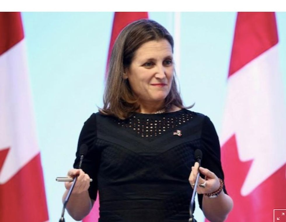 Canada hits back at US over tariffs, says it won't back down
