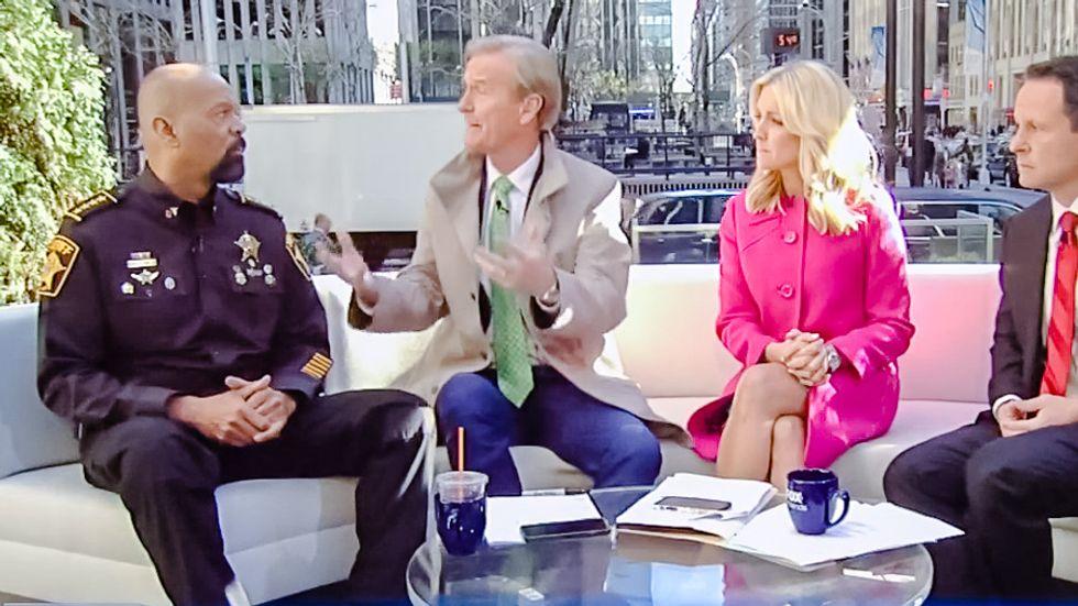 Fox's Sheriff Clarke: Hillary's love of hot sauce is as racist as saying 'watermelon' to blacks