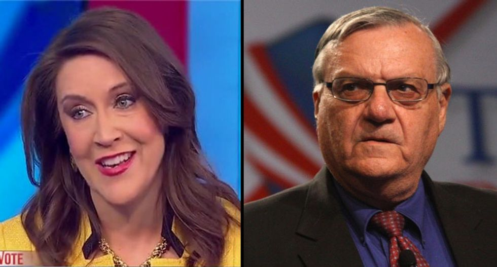 CNN strategist: Joe Arpaio advising Trump on immigration law — 'the man is a national disgrace'