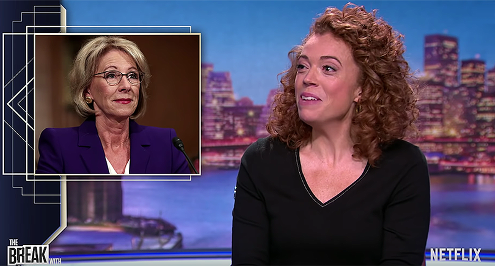 Michelle Wolf teaches a masterclass on how to perfectly crush the soul of Trump's team
