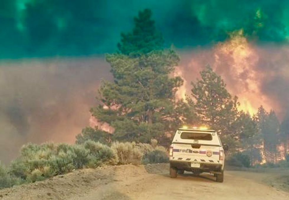 Danish man charged with starting destructive Colorado wildfire