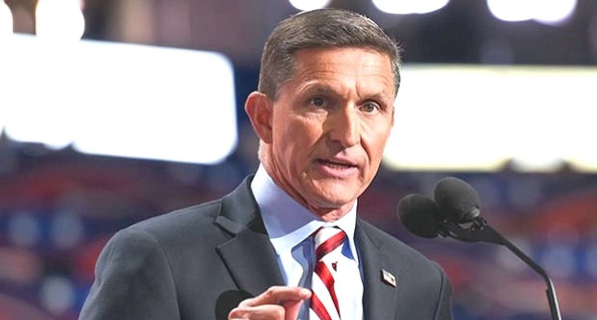 Video reveals Michael Flynn calling for coup like 'what happened in Myanmar' to replace Biden with Donald Trump